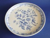 Copeland and Garrett, late Spode, 'British Flowers' Cheese Stand c1840